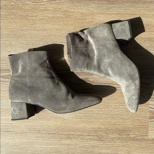 ZARA suede booties size 37